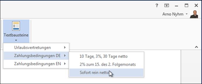 Team Hahner - Word Solutions - Bausteinverwaltung