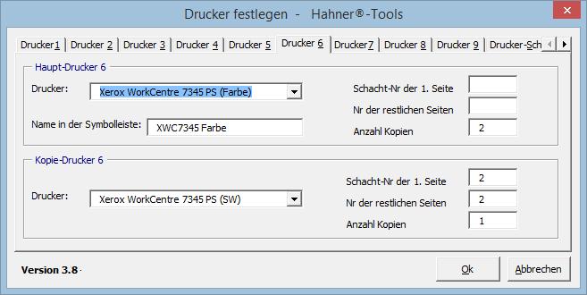 Team Hahner - Word Solutions - Drucker-Assistent